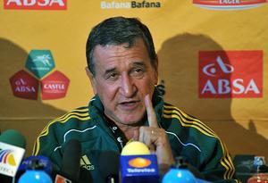 Seleção sul-africana joga Copa do Mundo por união do país