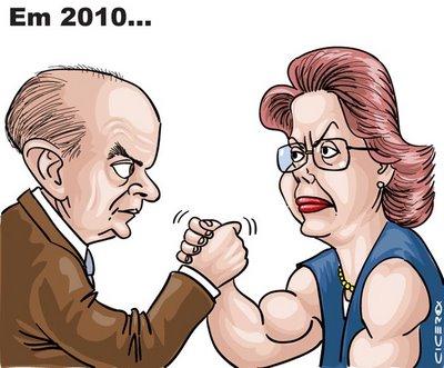Ibope: Serra e Dilma estão empatados com 37% das intenções de voto