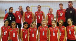 Cambé sub-13 vence Liga de Vôlei do Paraná