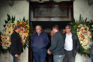 Curitiba, 03-06-2010 - Governador Orlando Pessuti lamentou a morte de Vanderlei Iensen, presidente da Celepar.-
