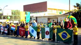 Copa mobiliza a Escola Pedro Tkotz