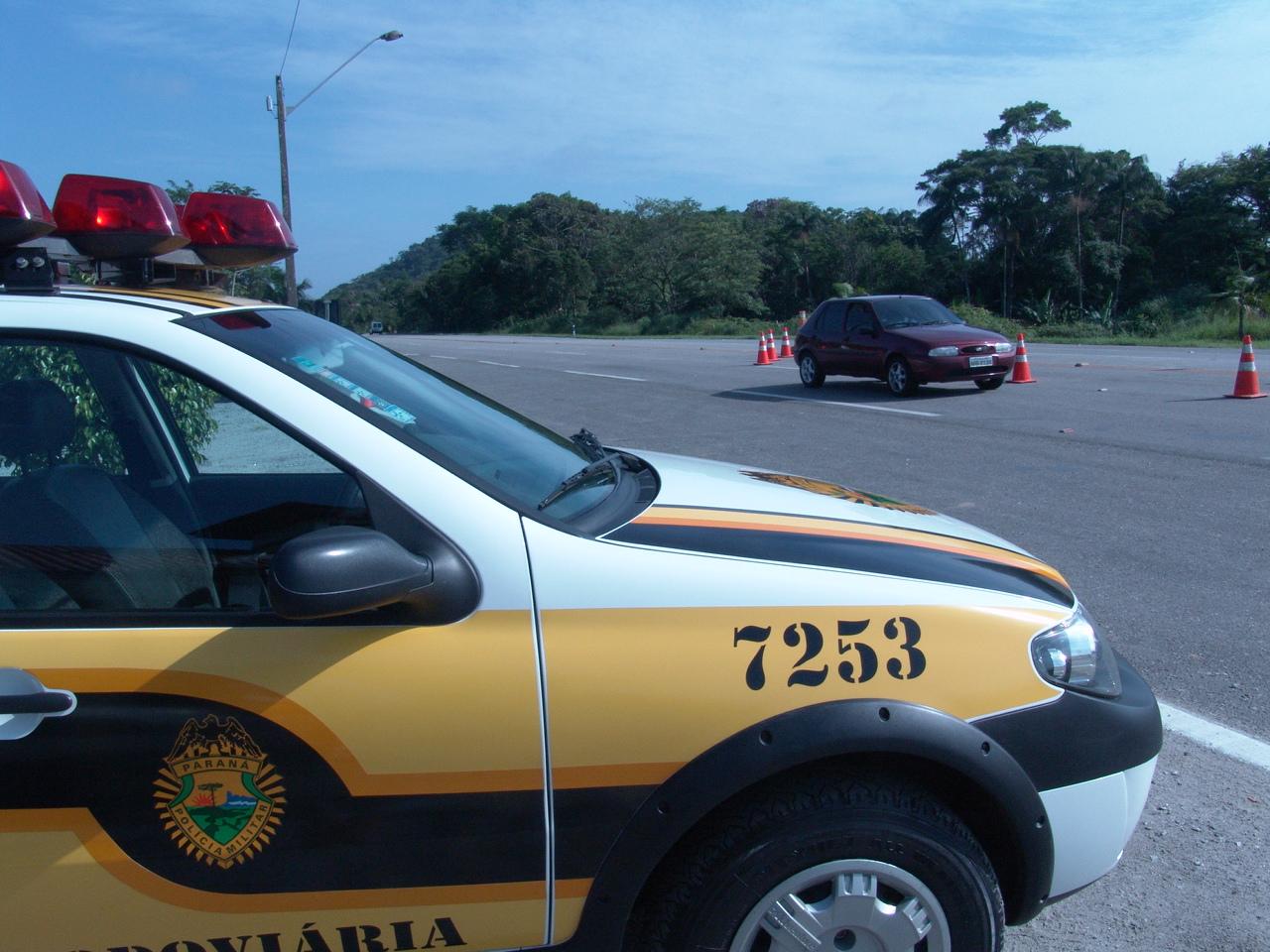O número de acidentes cai 35% durante feriado de Corpus Christi