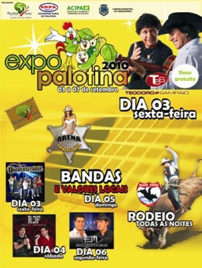 Definida programação oficial da Expo-Palotina