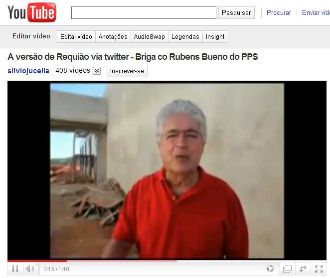 Requião entra em confusão com Rubens Bueno (PPS) em Campo Mourão