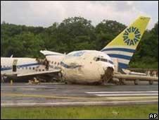 Pensei que o avião ia explodir, diz brasileiro após acidente na Colômbia