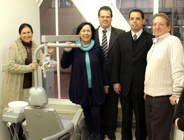 SESCAP-Londrina doa consultório odontológico para Fundação Galvão Bueno