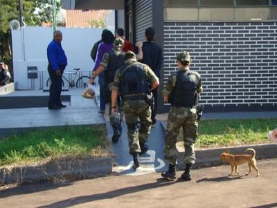 Mega operação da Policia desarticula quadrilha no Oeste do Estado