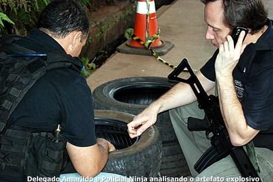 GDE desativa granada encontrada em ônibus de turismo na Ponte da Amizade
