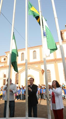 Solenidade no centro de Eventos abre as comemorações da Semana da Pátria em Cambé