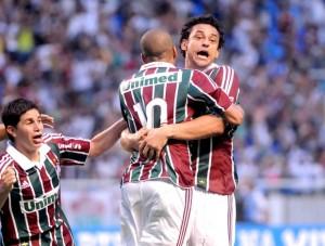 Emerson marca o gol do título e entra para a história do Fluminense (Foto: André Durão / Globoesporte.com)