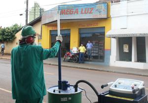 Empresa de Cambé inicia a descontaminação de lâmpadas