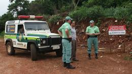 Polícia Ambiental e SAMA fiscalizam áreas de despejo irregular de resíduos