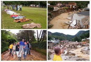 Região serrana do Rio tem mais de 300 mortos em decorrência da chuva