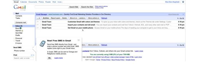 Falha técnica apaga dados de 150 mil usuários do Gmail