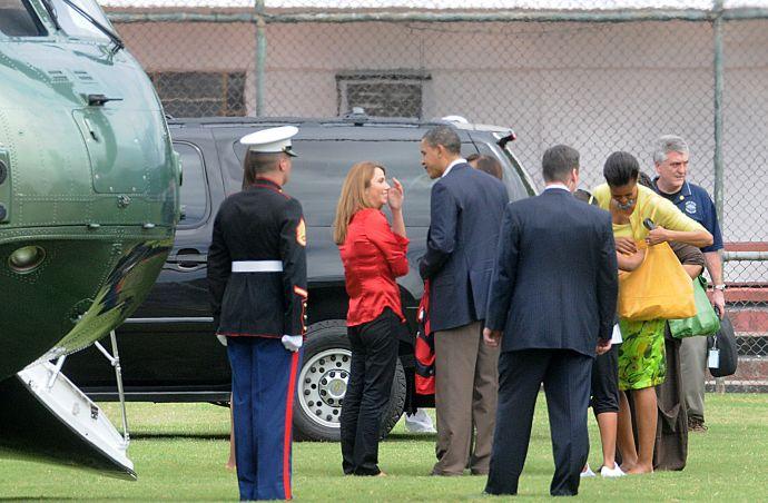 Patricia Amorim encontrou com Barack Obama