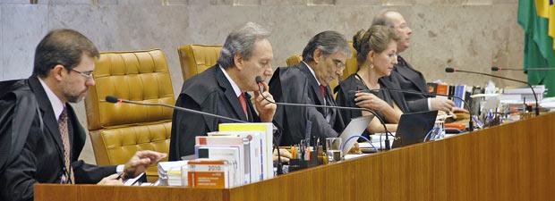 Supremo derruba validade da ficha limpa nas eleições de 2010