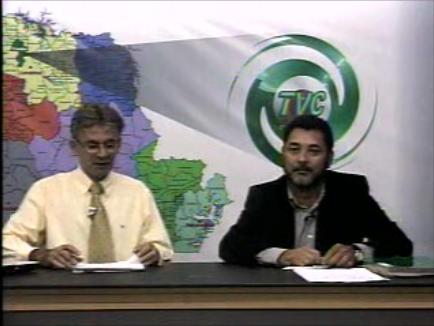 Vereador Cecílio Araujo concede entrevista a TV Cambé