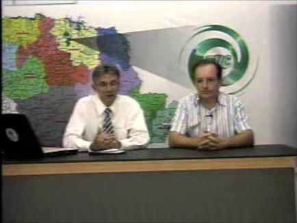 Prefeito João Pavinato concede entrevista a TV Cambé