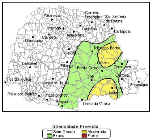 Previsão do tempo para Cambé nesta quarta-feira (29)