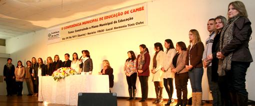 Conferência dá início à construção do 1º Plano Municipal de Educação de Cambé