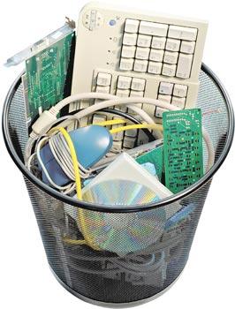 Projeto que tramita na Câmara obriga revendedores a recolher lixo eletrônico