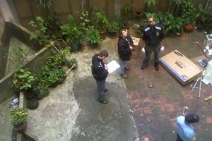 Criança cai do 13° andar de um edifício no Centro de Curitiba