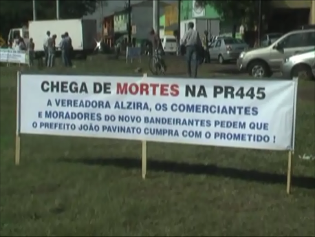 Vereador Irineu Defende fala sobre a PR 445 (Vídeo)
