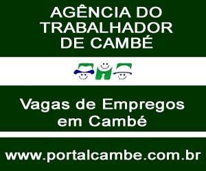 AGÊNCIA DO TRABALHADOR DE CAMBÉ, VAGAS ABERTAS PARA O DIA 04 DE AGOSTO DE 2011.