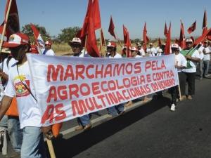Sem-terra chegam a Brasília para apresentar projeto de empresa agrícola comunitária