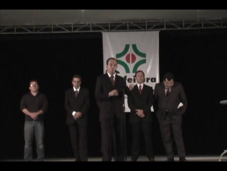 Veja como foi lançamento do Centro Logístico Norte do Paraná (Vídeo)