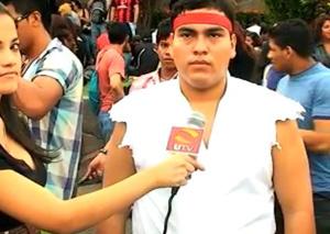 Rapaz paga mico na Internet por imitar o Ryu do Street Fighter