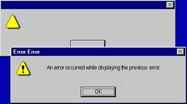 Os 12 erros de Windows mais engraçados