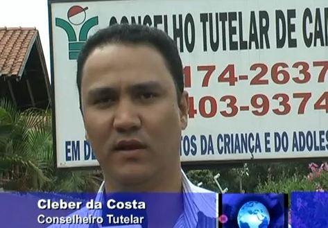 Entrevista com Cleber da Costa conselheiro tutelar de Cambé