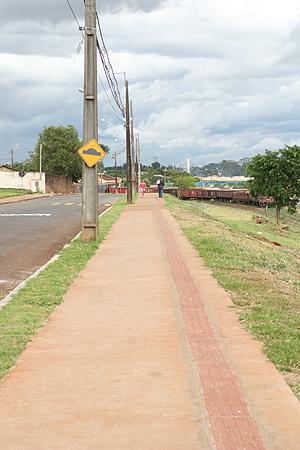 Calçada e pista de caminhada do Ana Rosa serão inaugurados no dia 4 de março