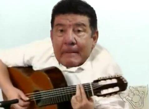 Joel Santana Canta o Hino do Flamengo em Inglês