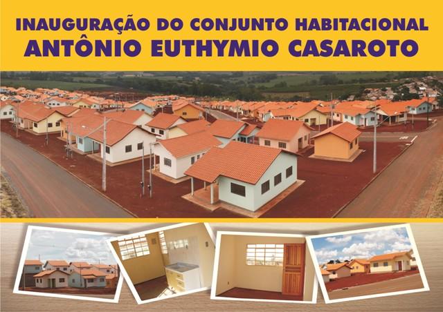 Cambé: famílias recebem as casas do Conjunto Antônio Euthymio Casaroto