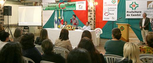Cultura define delegados para Conferência Macrorregional