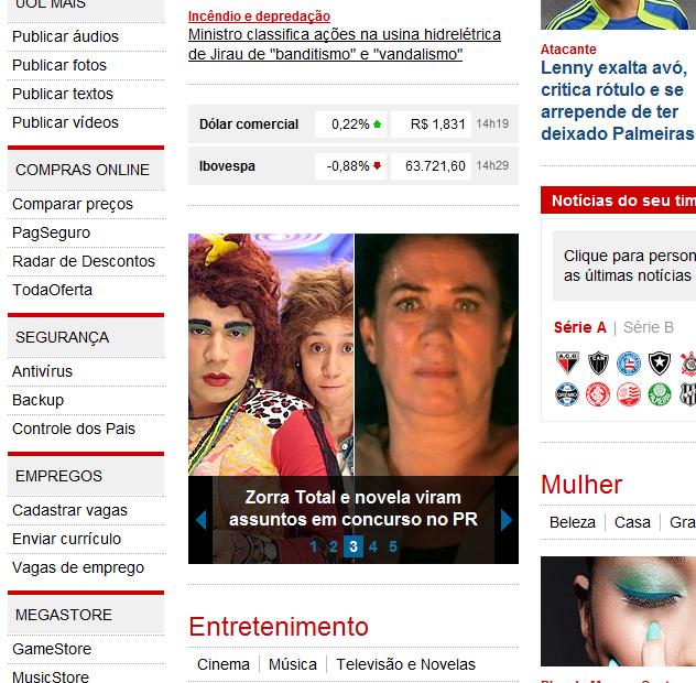 Quanto custou? Notícia sobre concurso de Cambé é publicado no Site G1 da Globo.com