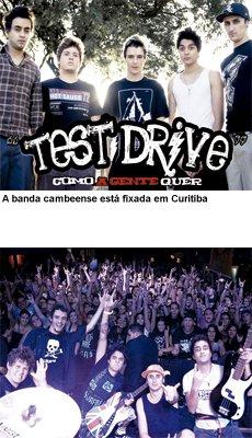 """""""Test Drive"""", uma banda cambeense que começa a ganhar o Brasil"""