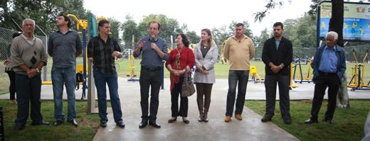 Vila Brasil ganha Academia ao Ar Livre no domingo