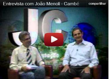 Entrevista com João Antonio Menoli, presidente do Sindicato Rural de Cambé (Vídeo)