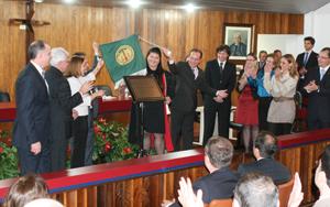 Presidente do TJ instala a 2ª Vara Cível e lança pedra fundamental do novo Fórum de Cambé