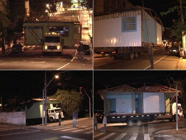 Moradores mudam de endereço e levam casas em caminhões no PR