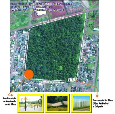 Meio Ambiente lança obras de revitalização na Mata do Ana Rosa