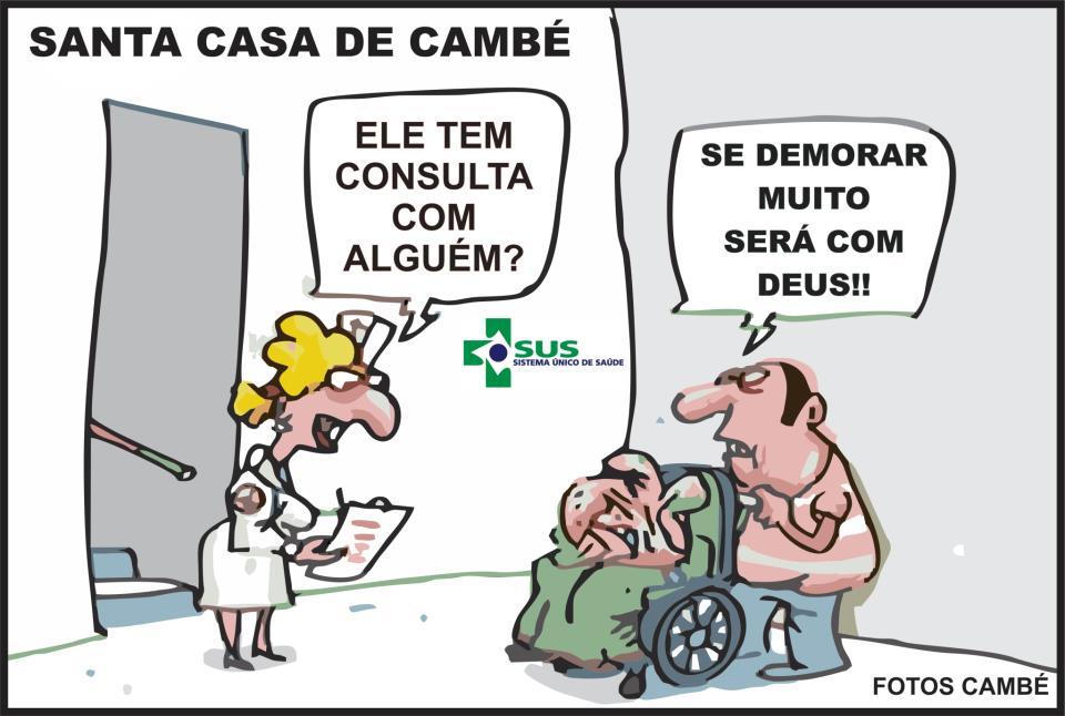 Charge: Santa Casa de Cambé