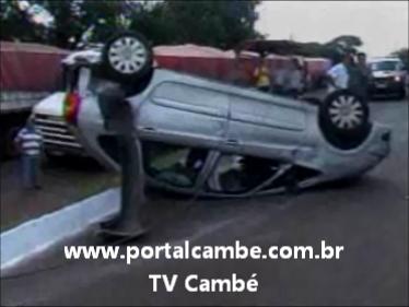 Acidente na BR 369 deixa feridos em Cambé (Vídeo)