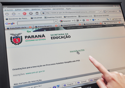 Secretaria da Educação abre inscrições para processo seletivo