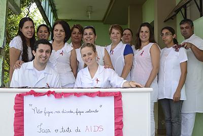 Campanha intensifica realização de teste rápido de Aids em Cambé