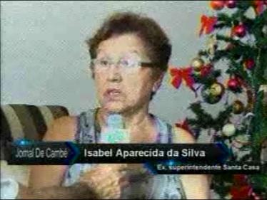 Entrevista com a ex-superintendente da Santa Casa de Cambé (Vídeo)