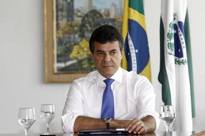Governador Beto Richa anuncia mudanças no secretariado. Foto: Orlando Kissner/ANPr